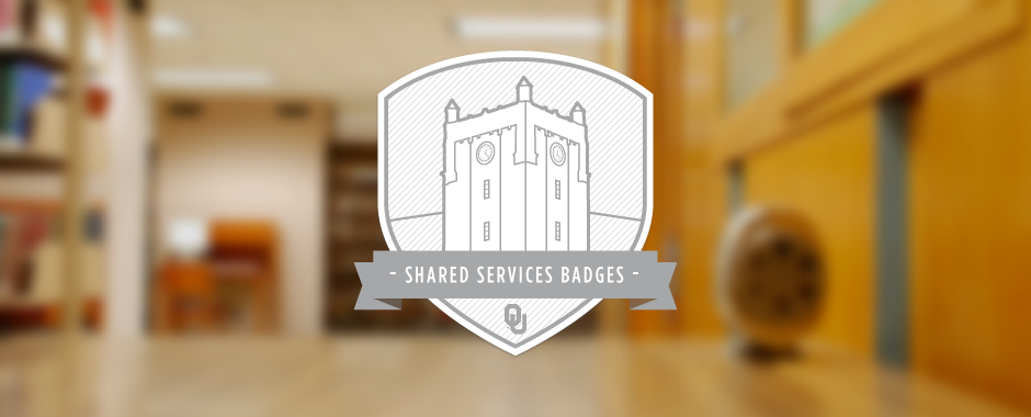 Shared Services Badges